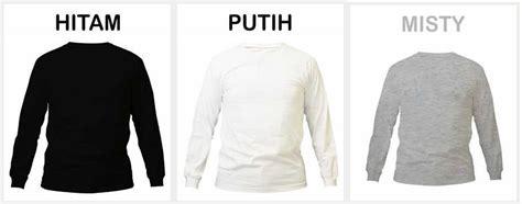 Kaos Lengan Panjang Element buat kemeja seragam order seragam