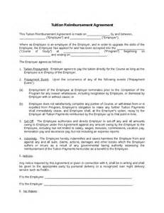 tuition reimbursement application template tuition reimbursement agreement hashdoc
