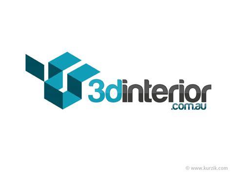 interior logo 7 3d logo design images illustrator 3d logo design cool