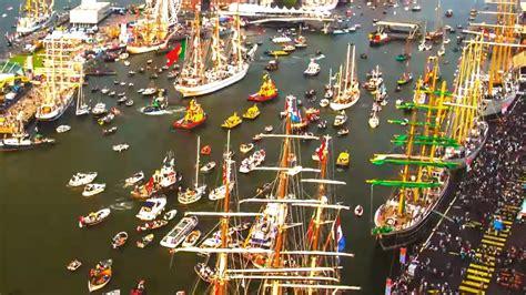 amsterdam porto port of amsterdam timelapse sail 2015 drone addicts