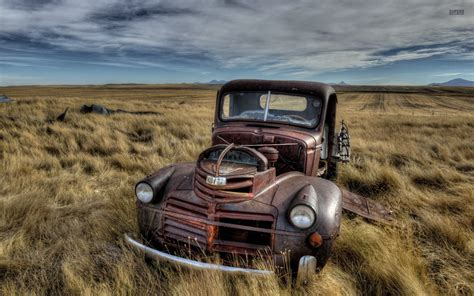 rusty pickup old truck wallpapers for computer 5414 hd wallpapers site