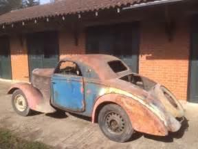 Bugatti Wagon 1936 Peugeot 301 D Coupe Bugatti Designed