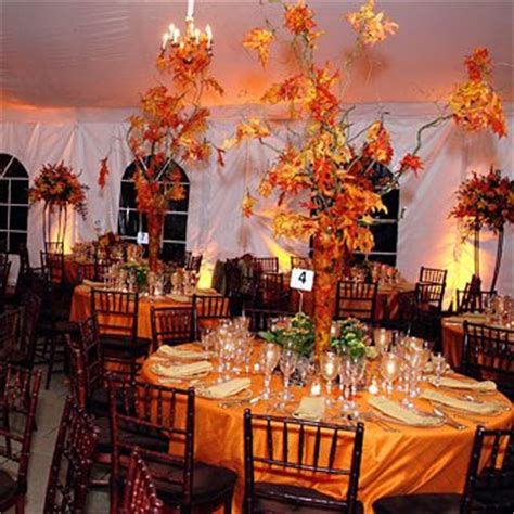 fall wedding decorations ideas fall wedding centerpieces and ideas cherry