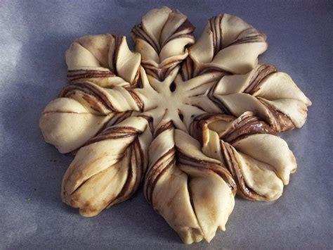 pan brioche alla nutella fiore fiore di pan brioche alla nutella braided nutella