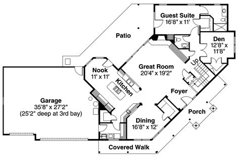 home plans floor plans craftsman house plans rutherford 30 411 associated designs