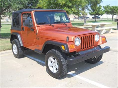 2002 jeep wrangler x for sale 2002 jeep wrangler 4x4 x for sale