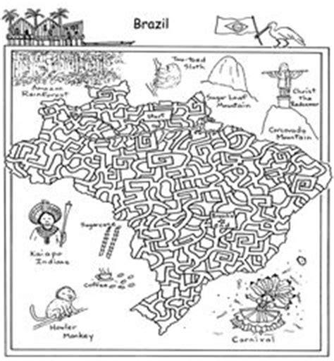 printable geography maze geografia on pinterest
