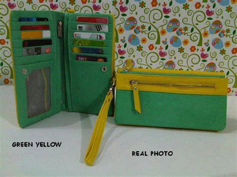 Fashion Pria Korean Style Comby Leather Green Style dompet lipat sold out favoila jual dompet dan tas