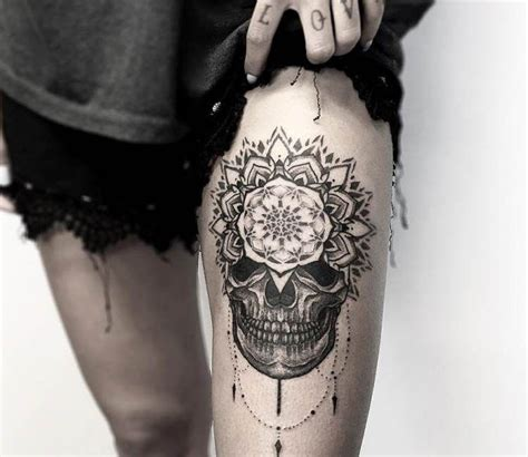 tattoo mandala skull mandala skull tattoo by otheser tattoo best tattoos