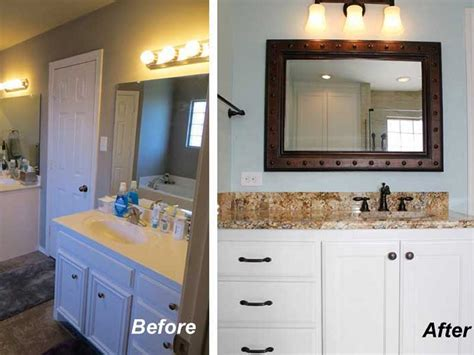 kitchen bathroom before after remodeling photos