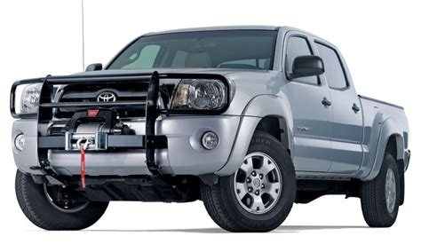 Toyota Tacoma Grill Guard Warn 32522 Warn Industries Trans4mer Grille Guard In
