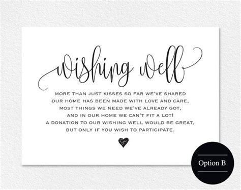 wishing well cards free templates best 25 wishing well wedding ideas on
