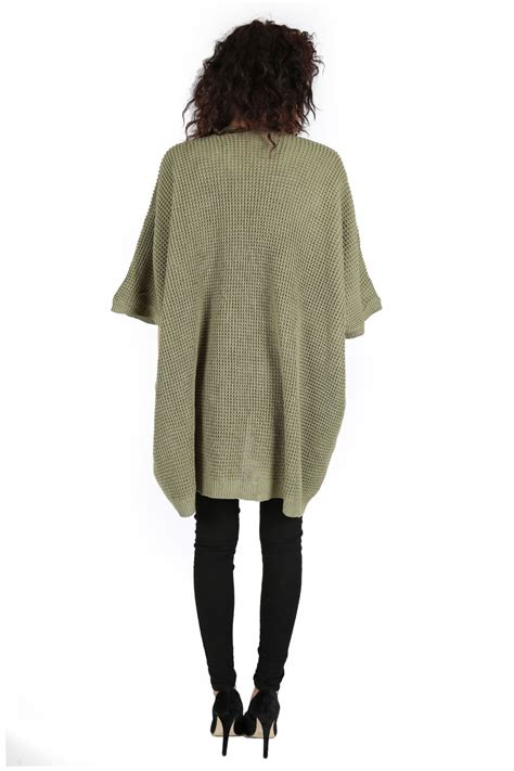 knitted cape cardigan cape cardigan knit top batwing waterfall open front