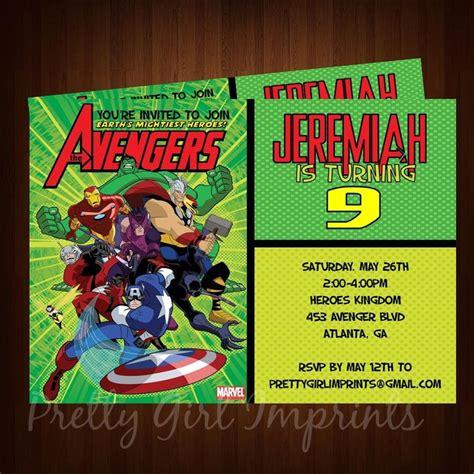 printable birthday invitations avengers welcome to memespp com