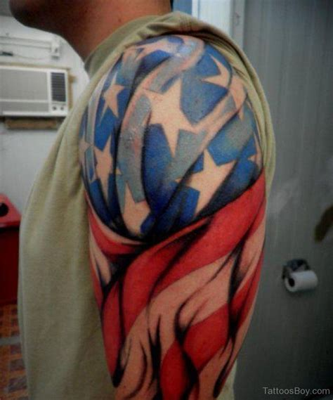 cool american flag tattoos flag tattoos designs pictures page 4
