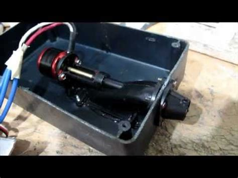 large rc boat jet pump jet drive with 2 blade impellers youtube
