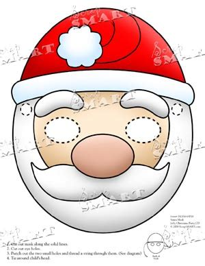 printable christmas masks best photos of christmas mask templates free reindeer