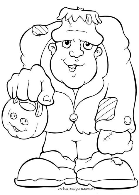 frankenstein coloring pages frankenstein printable coloring pages
