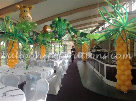 jungle themed decorations themed children s jungle themed birthday