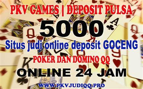 pkv games deposit pulsa poker perang mainan