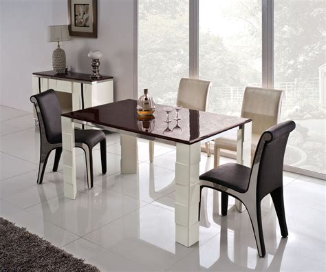 High Top Dining Room Table Sets Modern Style Dining Room With Creative Rectangle Shaped Stainless Steel High Top Tables 2