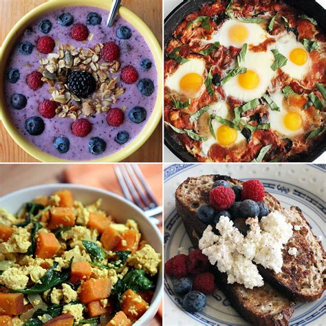 healthy breakfast recipe ideas popsugar fitness