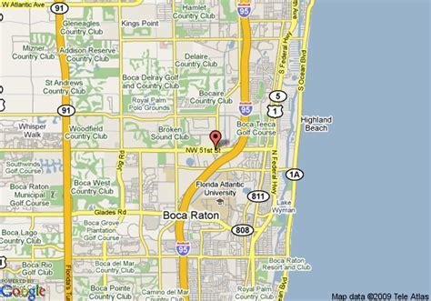 boca raton map map of towneplace suites boca raton boca raton
