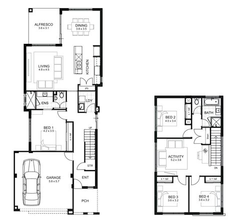 simple 4 bedroom house plans small 4 bedroom house small 4 bedroom house plans