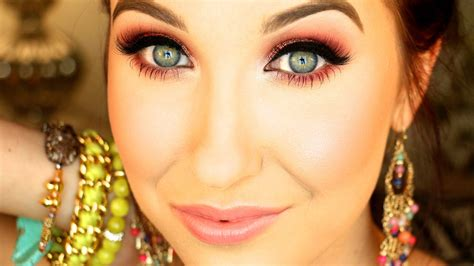 makeup tutorial jaclyn hill rose sparkle spring 2014 makeup tutorial jaclyn hill