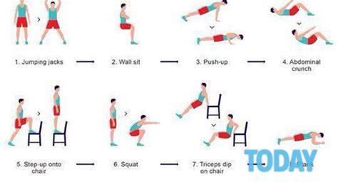 Esercizi Fisici In Casa by Tenersi In Forma 12 Esercizi Da Fare A Casa