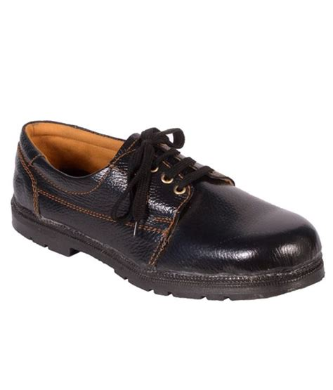 karam black safety shoes best price in india as on 2017