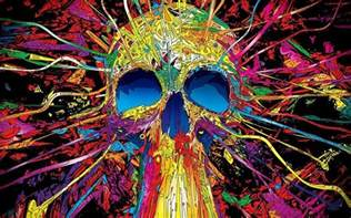 colorful skull abstract skull wallpapers wallpaper cave