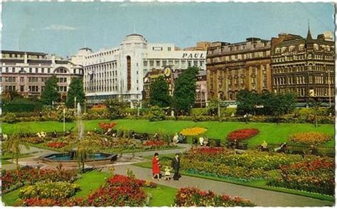 Manchester Gardens what piccadiily gardens used to look like picture of