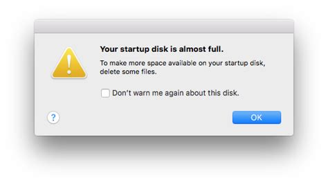 how to make room on startup disk macbook air how to fix startup disk is almost warning on your mac