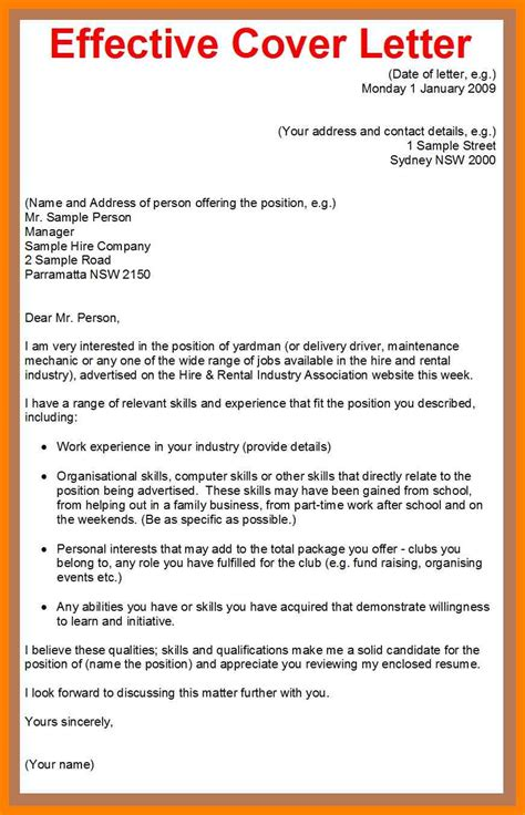 how do i create a cover letter for my resume 28 images
