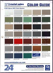 metal sales color chart pin sheffield color chart on