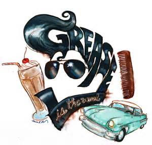 Grease Lightning Car Drawing Grease Logo By Kumu18 On Deviantart