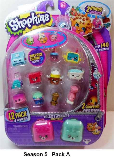 shopkins season 5 pack of 12 shopkins season 5 12 pack