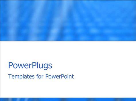 Powerpoint Template Depiction Of A Plain Blue And White Plain Powerpoint Templates