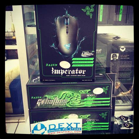 Paket Razer Rook Basic Mouse Razer Imperator 4g Mousepad Goliathus 1 razer imperator dextmall