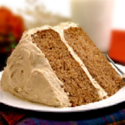 pumpkin spice cake with maple frosting recipe dishmaps