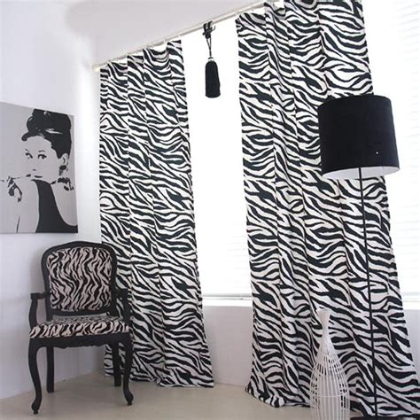 zebra curtain zebra curtain