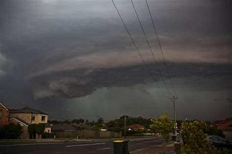 Shelf Cloud Sydney by Spectacular Shelf Cloud Western Sydney 24th November 2014 Storms