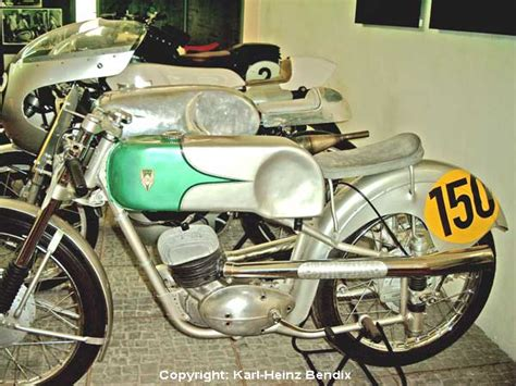 125er Motorrad Rennmaschine by Motorradmuseum Augustusburg Mz Racer