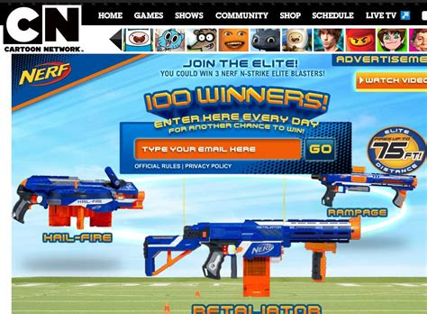 Strike It Rich Sweepstakes Official Rules - the hasbro nerf n strike elite sweepstakes