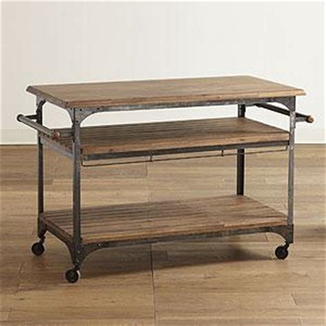 bryant mobile kitchen cart industrial kitchen islands and kitchen carts by cost plus world bryant mobile kitchen cart world market