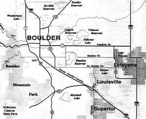 map of boulder colorado and surrounding area summit middle school boulder valley information