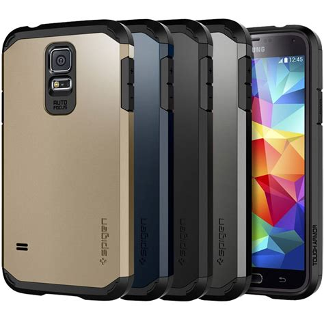 New Spigen Armor Shockproof For Samsung S5 S5 spigen tough armor for samsung galaxy s5 review impulse gamer