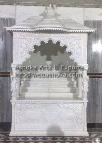 marble mandir carved white marble pooja ghar