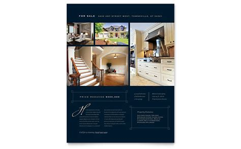 real estate flyer template word beneficialholdings info